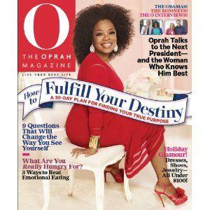 O, The Oprah Magazine Subscription Just $5 at Amazon!