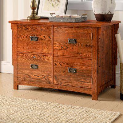Birch Lane Heritage Limon 2 Drawer Lateral Filing Cabinet With Door Filing Cabinet Cabinet Doors Cabinet