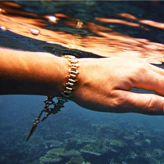 Sutra Bracelet by Long Lost Jewelry  Photo by @Rebekah Steen blogger Goldfishkiss
