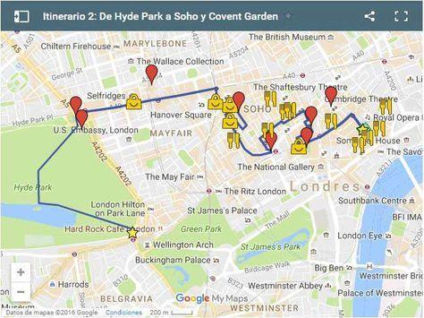 Ruta Por Londres De Hyde Park A Soho Y Covent Garden Londres Viajes A Londres Londres Turismo