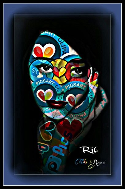 Amo cores em Arte!!!