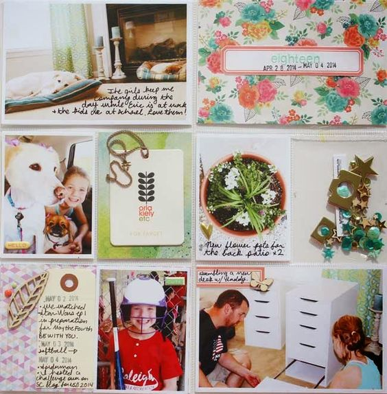 life, scrapbook, repeat: Project Life 2014: Week 18