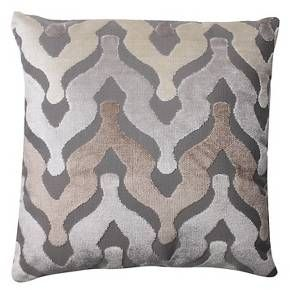 "Pillow Perfect Monroe Driftwood Throw Pillow - 16.5x16.5"" - Tan : Target"