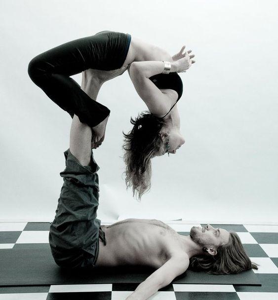 Some sweet lovin' acro yoga! :)