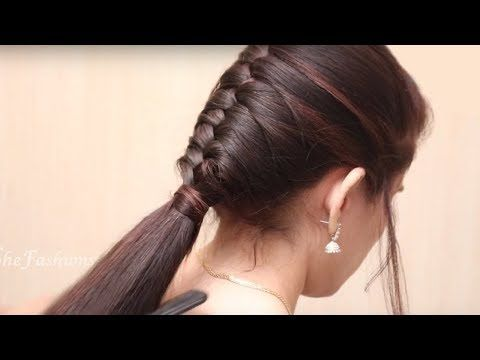 Ponytail Hairstyle For Long Hair Girls Ladies Hairstyle Tutorials 2017 Youtube Easy Hairstyles For Long Hair Hair Styles Girls School Hairstyles
