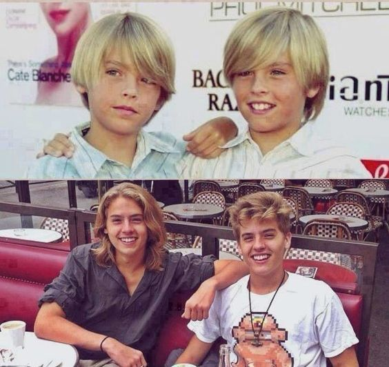 Dylan & Cole Sprouse. Then and now | Famous People ... |Cole And Dylan Sprouse Then And Now