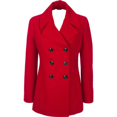 Womens black leather pea coat – Novelties of modern fashion photo blog