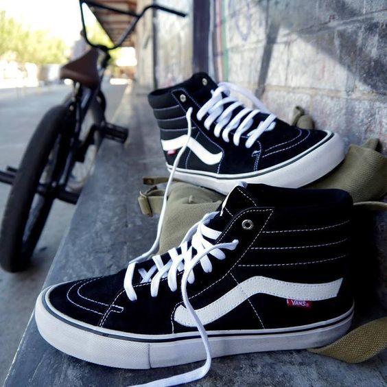 zapatillas vans old skool negras mujer