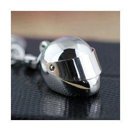 Llavero casco moto
