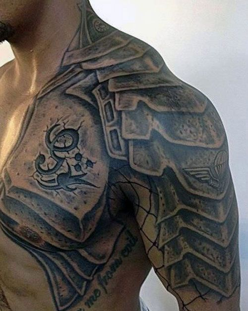 125 Best Half Sleeve Tattoos For Men Cool Designs Ideas 2019 Guide Shoulder Armor Tattoo Half Sleeve Tattoos For Guys Armour Tattoo