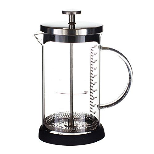 Ufengke 12 Oz French Press Coffee Tea Maker Stainless Steel Coffee Press Pot With Tempered Glass Liner And Fi Coffee Maker Glass French Press Coffee