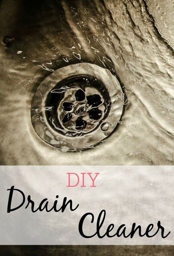Diy Drain Cleaner Slow Drain Drain Cleaner And Easy Diy