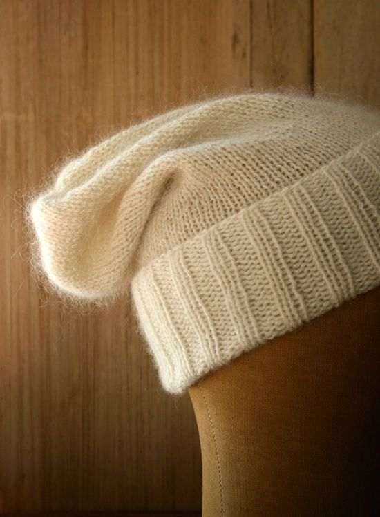 Simple Pleasures Hat - the purl bee. Conclusion: I love the purl bee.