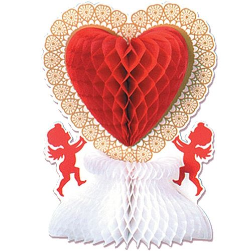 St Valentine's Day Centrepiece. Romantic love themed Valentine's Day themed party supplies, Valentine's Day heart balloons, Valentine's Day decorations, tableware and sexy valentine's fancy dress.