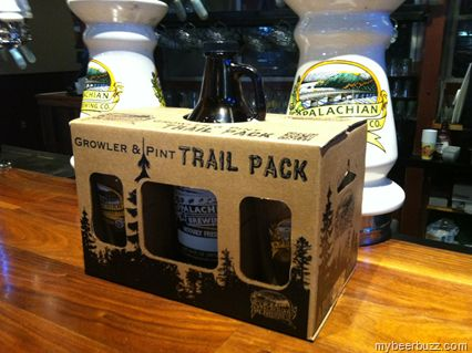 Appalachian Brewing Launches Growler & Pint Gift Packs