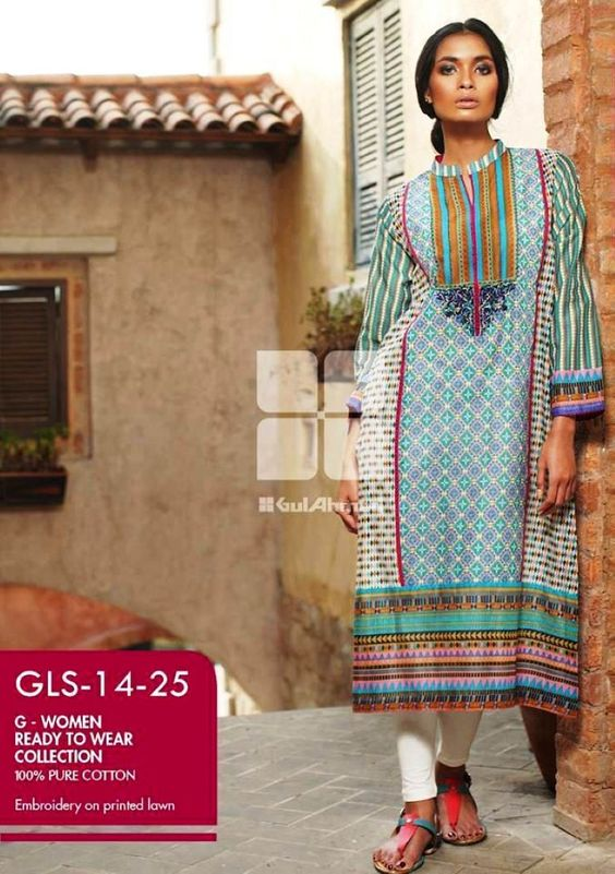 Gul Ahmed G-Women Ready to Wear Collection 2014