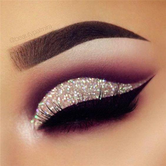 14 Shimmer Eye Makeup Ideas For Stunning Eyes Shimmer Eye Makeup