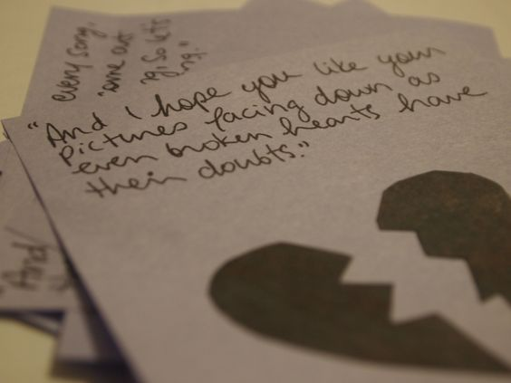 If You Wanted a Song Written About You, All You Had to do Was Ask; Mayday Parade