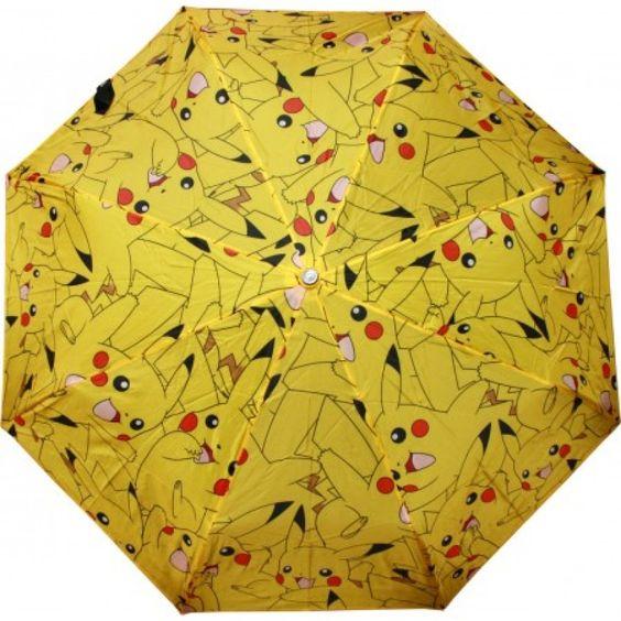 Collectables - Pokemon All Over Print Pikachu Umbrella