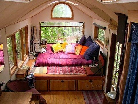 Dwellings / Interior Of Solange's Vardo
