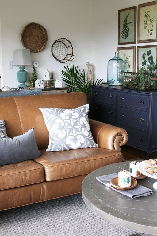 30 Pottery Barn Sectional Leather Sofa Ideas You Can Add To Your Home Brown Living Room Leather Couches Living Room Tan Living Room