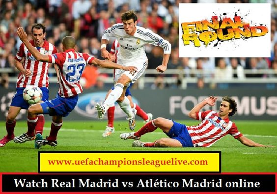 Watch here UEFA Champions league Match between Real Madrid vs Atlético Madrid live on Saturday, May 28, 2016 at from San Siro Stadium in Milan, Italy. UEFA Champions league live stream 2016 online on PC. just follow our streaming link. You May Finding Way To watch UEFA Champions league live Match. You Have came To the Perfect Place. Here just click our link to watch Real Madrid vs Atlético Madrid live.  LIVE STREAM HERE::::  http://www.uefachampionsleaguelive.com/