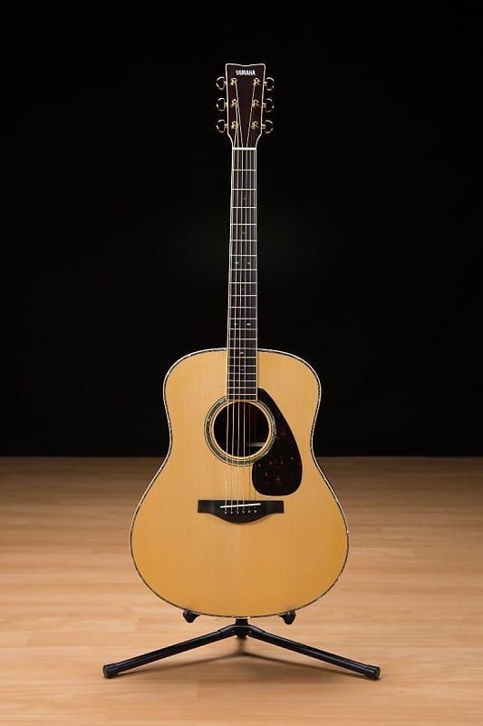 Yamaha Ll16d Jumbo Acoustic Guitar Natural Reverb Yamaha Guitar Kids Acoustic Guitar Yamaha Acoustic