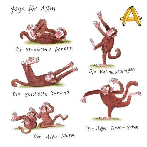 Yoga F 252 R Tiere Yoga