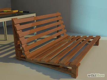 Build A Futon Frame Step 11 Jpg Crafts For Home Pinterest Diy Furniture And Folding