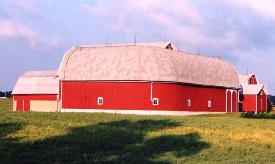 Curved back Barn, Austin Rd, Manchester Mi