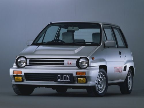 1983 Honda City Turbo II- Old school, lovin' it.