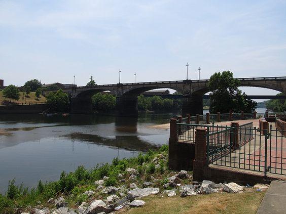 Chattahoochee River Phenix City, Alabama side.  Got married in Phenix city.  :)