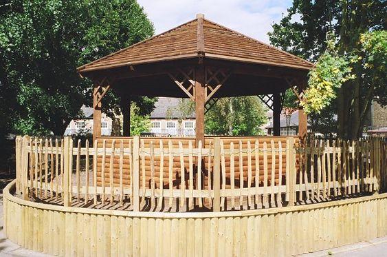 Children's outdoor classroom