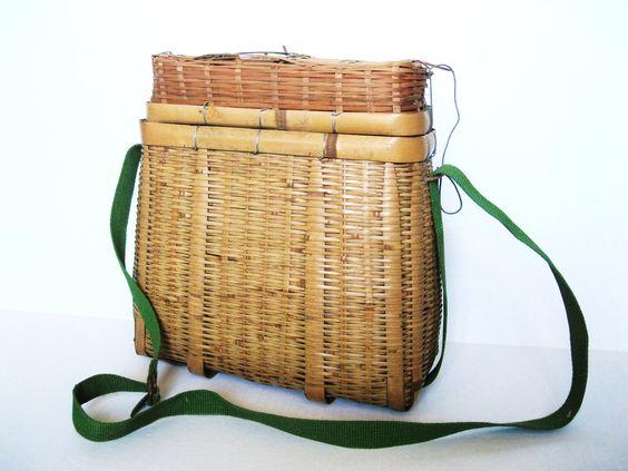 JAPANESE Bicycle Basket. $34.00, via Etsy.
