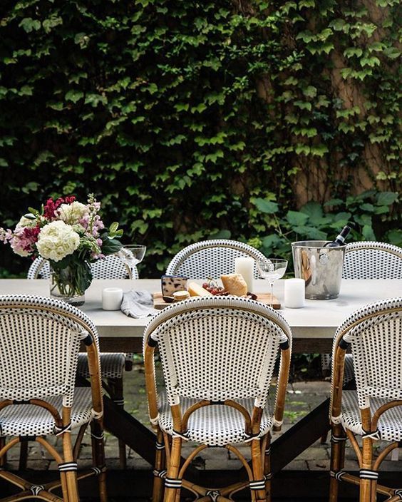 Bistro Chairs Outdoor Patio Decor, French Bistro Furniture Outdoor