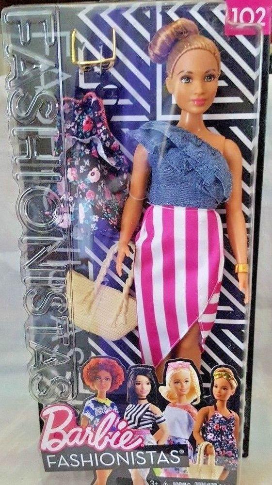 Barbie Fashionistas 66 Doll Free Shipping New