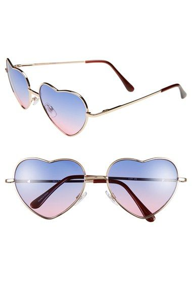 ray ban heart sunglasses  ombre heart shaped sunglasses!!!!!! $12!!! oh yeah!!