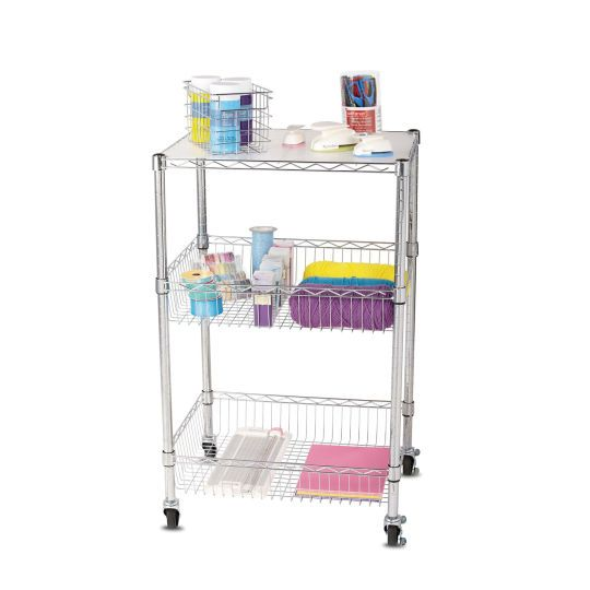 $53.99 Michael's - This modular utility cart is the perfect mobile solution for your craft storage and organiz...