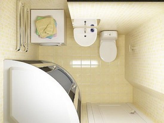 палитра стен ванной комнаты