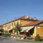 Torviscosa Case operai 1 dette case gialle Torviscosa, La company town della cellulosa  #Torviscosa #CompanyTown #Villaggioperai #Archeologiaindustriale #industrialheritage #FriuliVeneziaGiulia #cellulosa #SNIA