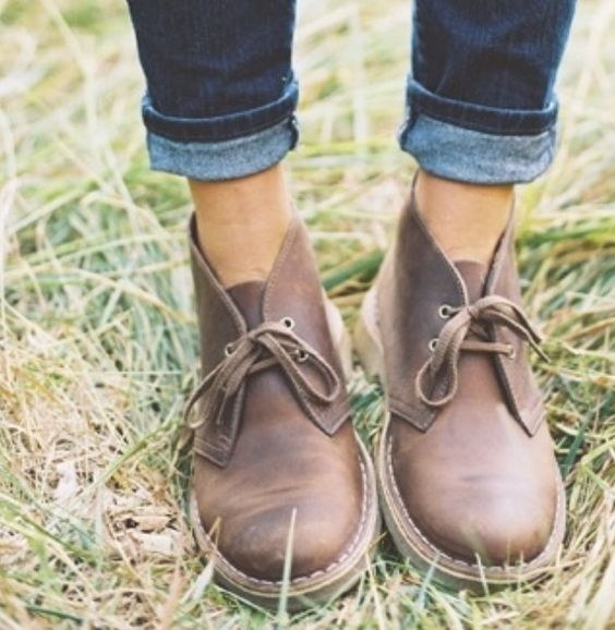 Desert boots! Took me 4 years to buy and they are my favorite boots