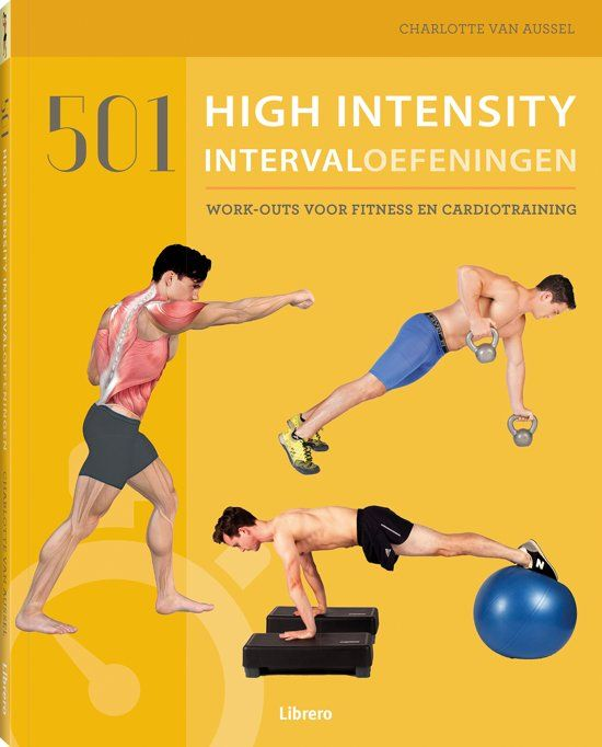 501 High Intensity Intervaloefeningen Biedt Een Enorme Reeks