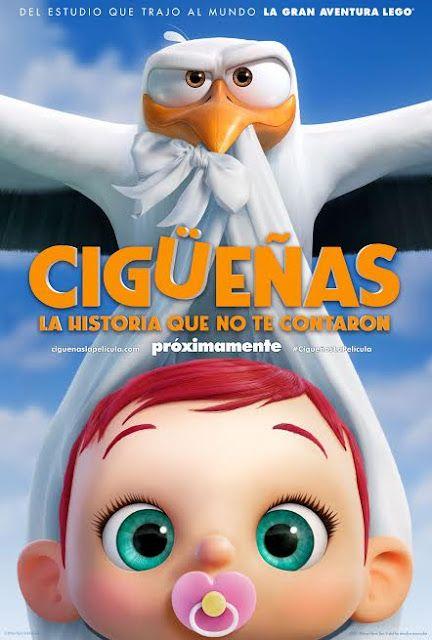 Ciguenas La Historia Que No Te Contaron Storks Movie Animated Movies Animated Movie Posters