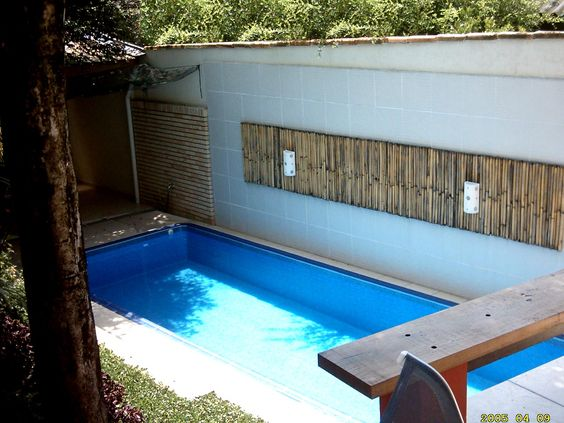 Google and search on pinterest for Piscinas pequenas