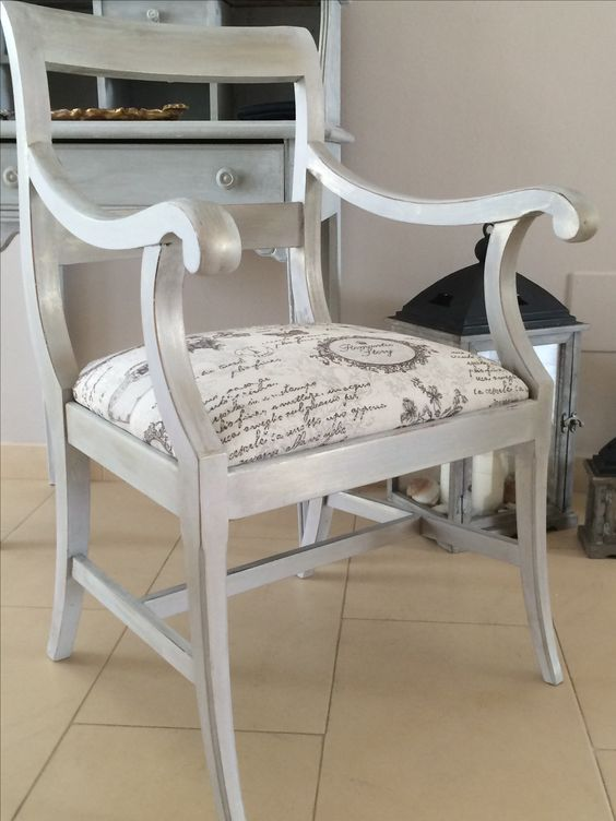 Silla restaurada chalk paint sillas pinterest paint - Sillas luis xvi ...