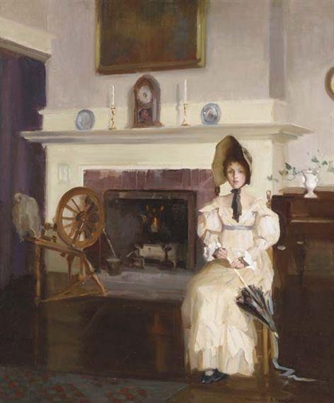"""""""Caller of 1816"""" by Marguerite Stuber Pearson"""