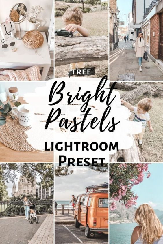Free Lightroom Preset Bright Pastels - Cappuccino and Fashion