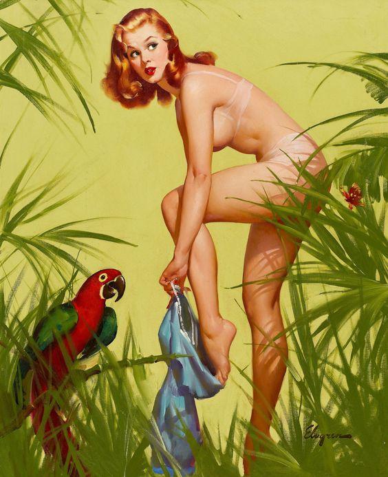 Illustrator: Gil Elvgren: