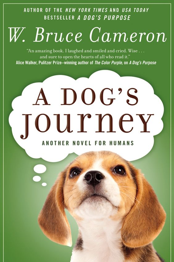 W. Bruce Cameron A Dog's Journey. I want to read this.