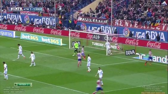 Koke Fantastic Goal Atletico Madrid vs Real Madrid 2 1